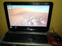 Vendo Computadora All in one Semi nueva - dvd