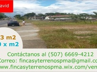 Se vende lote en David Chiriqui a orillas de Interamericana - Terrenos - David