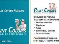 Paint Color's  - Construcción / Mantenimiento - Lima