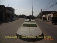 VENDO TERRENO EN MONSEFU CHICLAYO.$25 X M2 NEGOCIABLE.AGUA LUZ DESAGUE INTERNET A 200 MTS DE TERRENO - Terrenos - Chiclayo