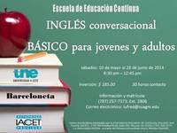 Basic Conversational English - Universidades - Barceloneta