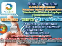 Reparo Mac Appel Y Windows Tecnico Certificado / Taller En Caguas a Domicilio - Internet / Multimedia - Caguas