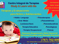 Centro Integral de Terapias Study & Learn With Me en Carolina - Terapias / Yoga - Carolina