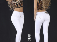 Jeans Colombianos Levantacola Latinasjeans - ropa