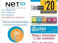 Net10 Wireless, Go Phone AT&T y Ptel Mobile - Electrónica / Celulares - Todo Puerto Rico