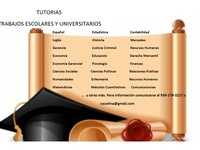 Tutorias, Transcripciones y Trabajos Universitarios - tutorias