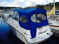 Aft Cabin 25ft Seaswirl Preciosa with trailer - trailer