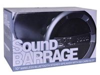 "ONE Sound Barrage 10"" Drum Portable Wireless Bluetooth Subwoofer Speaker/NEW. - Compras en General - Cayey"
