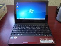 Vendo mini laptop marca acer color vino - mini laptop