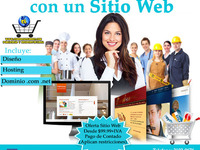 Paginas web desde $99+IVA - Internet / Multimedia - Todo El Salvador