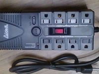 VENDO REGULADOR DE VOLTAJE MARCA IDEAL POWER PS-1200 1.2KVA 600W. TOTALMENTE NUEVO...... - Computadoras / Informática - Todo El Salvador