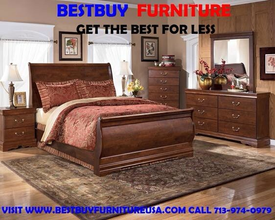 QUEEN BEDROOM SET 6PCS FROM ASHLEY $699 - Muebles ...