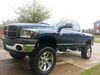 dodge ram 2500 4x4  hemi 2007 - Camionetas / 4x4 - Houston