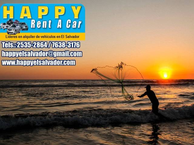 Happy Rent A Car El SAlvador - Turismo - Bozeman
