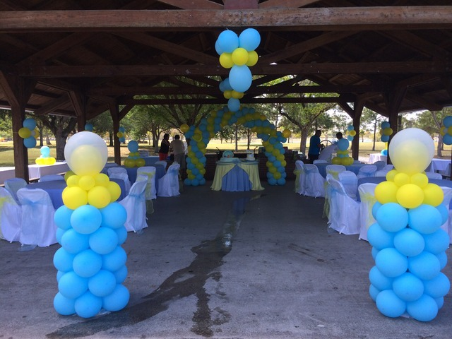 Decoraci n para baby shower en miami fiestas for Decoracion estados unidos