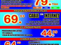 Cable Latino, Internet Veloz Y Telefono - Internet / Multimedia - Laredo