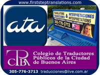 Certified Translators and Interpreters Call Now 305-776-3713  - Editorial / Traducciones - Coral Gables