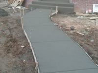 Concrete driveways and sidewalks services - Construcciones - Denver
