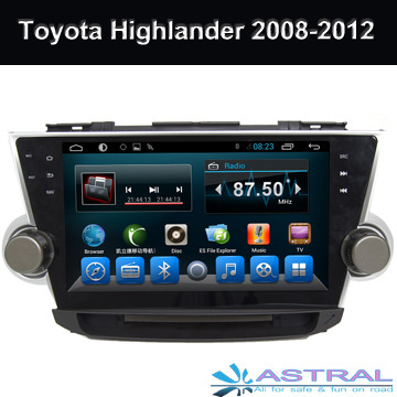 China Fabricante Autoestereo Navegador Dvd Bluetooth Toyota Auris Android Quad Core - Accesorios - Clarksville