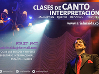 Clases de CANTO e INTERPRETACION (Manhattan / Queens / Brooklyn / NJ) - Música / Teatro / Danza - New York