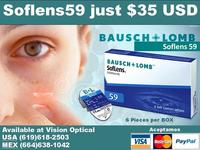 Contact Lenses $35 and Get Free Exam San Diego - san diego