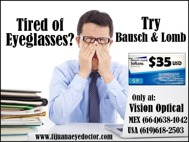 Contact Lenses $35 Eye Exam Included Optometrist  - Otros Servicios - San Diego