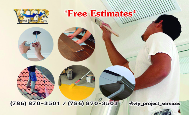 Painting and Cleaning - Construcciones - Miami