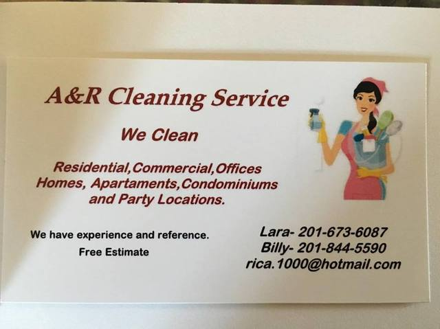 A&R Cleaning Service. - Limpeza / Lar - Hoboken
