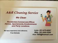 A&R Cleaning Service.