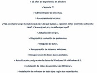 Servicio De Reparación De Pc A Domicilio - Internet / Multimedia - Montevideo