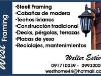 West Framing - construcciones San Andres (steel framing) - Busco Empleo - Salto