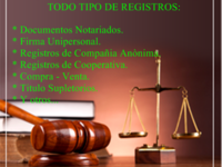 Abogada Mercantil y Civil. - registro mercantil