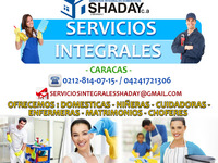 AGENCIA DOMESTICAS SHADAY CUIDADORAS ATENCIÓN AL ADULTO MAYOR  - san cristobal