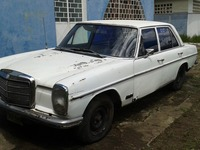 MERCEDES BENZ AÑO 1975 - mercedes benz